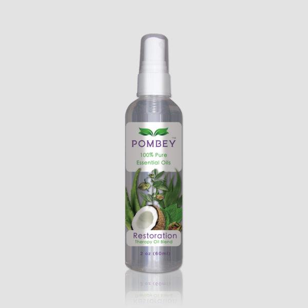 POMBEY Restoration Therapy Oil Blend 2 oz