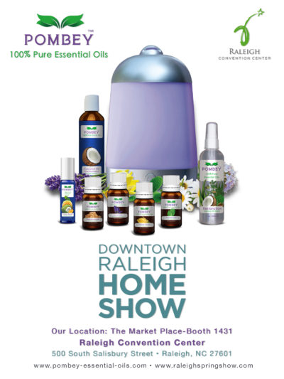 Events - POMBEY Essential Oils - Raleigh Covention Center